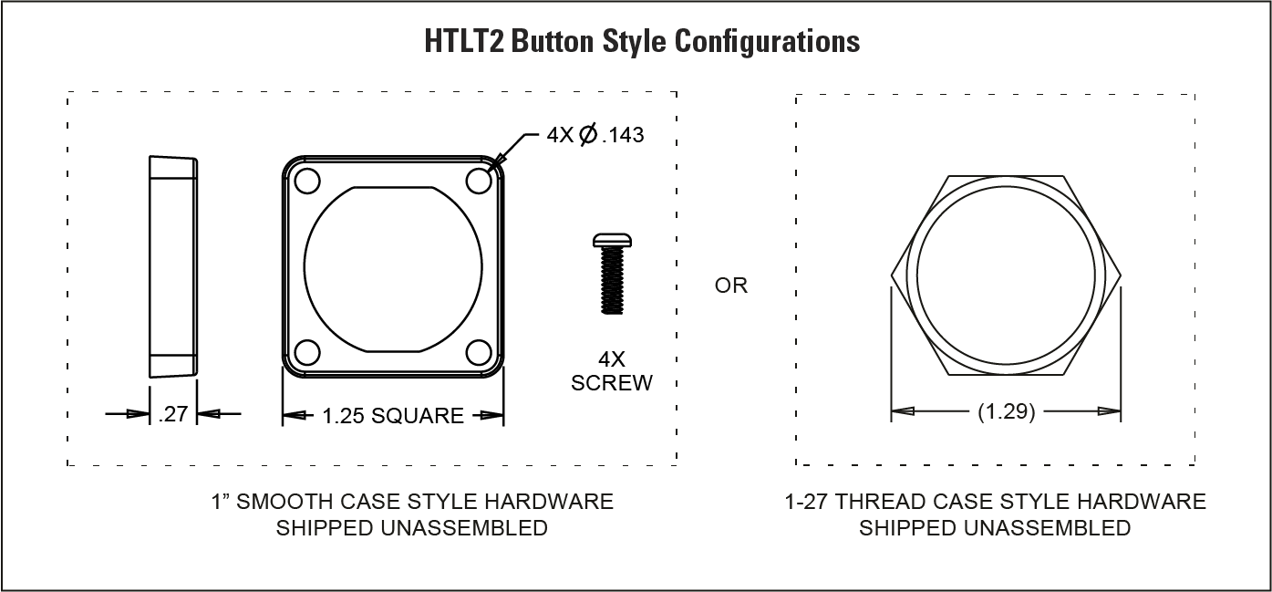 Supplier of HTLT2 Single Axis Finger Joystick with
