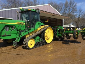 Clean Tractor and Planter