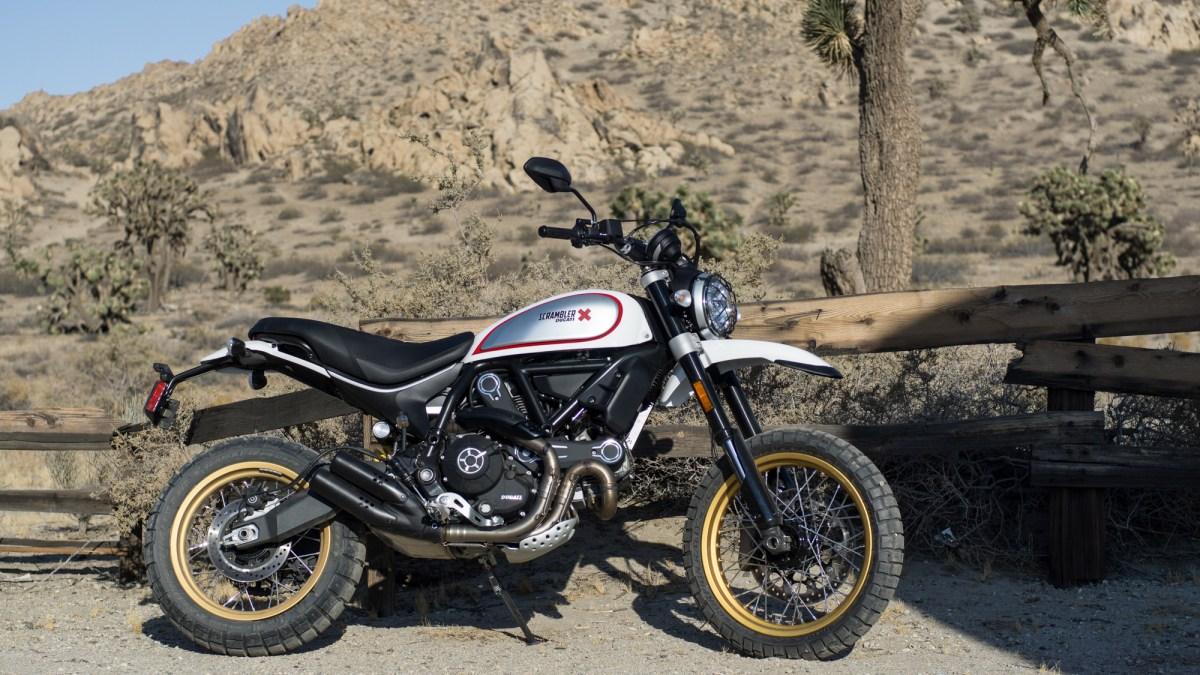Ducati Scrambler Desert Sled, la verdadera scrambler