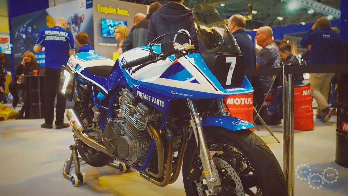 El renacer de la Suzuki Katana