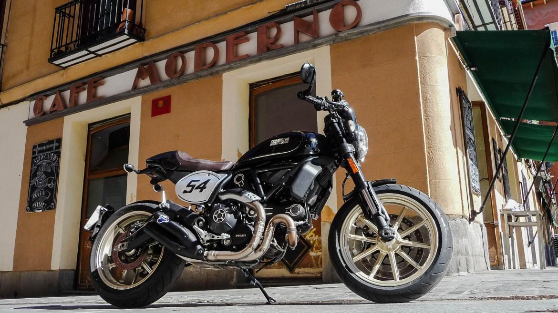 Prueba Ducati Scrambler Cafe Racer