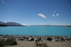 travel new zealand lake pukaki