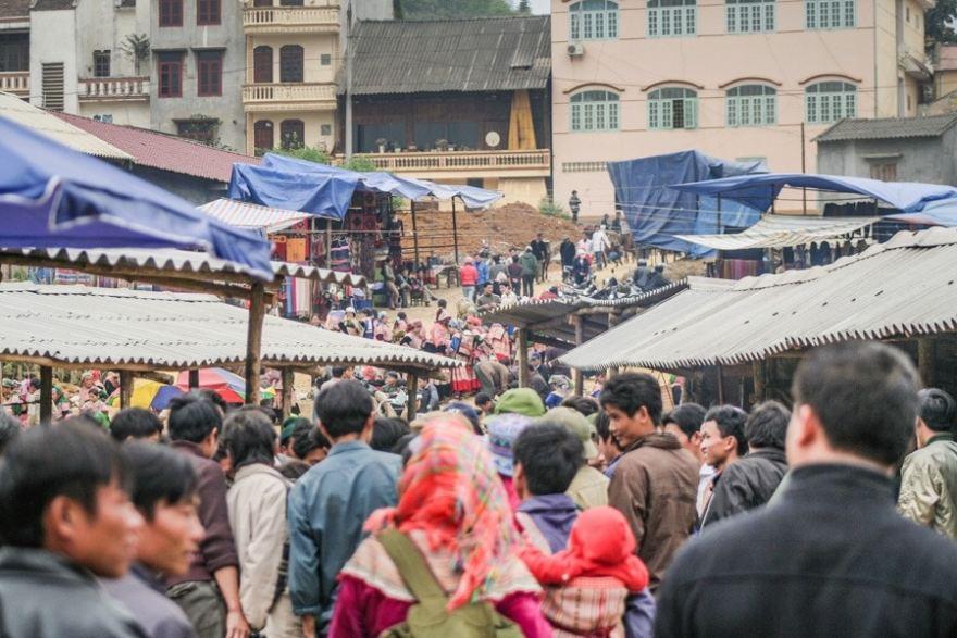 Bac Ha Sunday Market Northern Vietnam