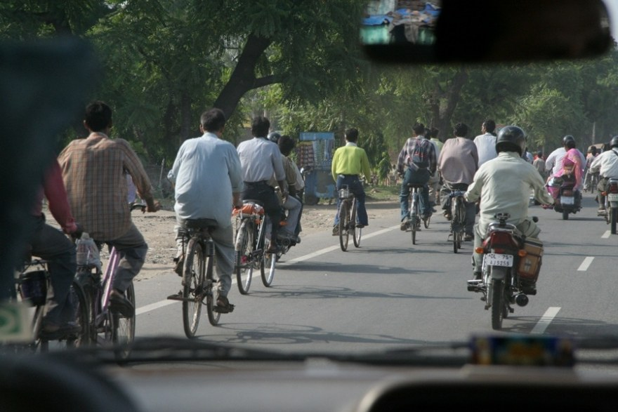 India driving