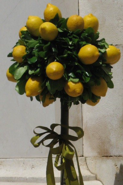 Sorrento is famous for their lemons