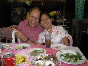 Lee and Tuyet - my hosts and translators!