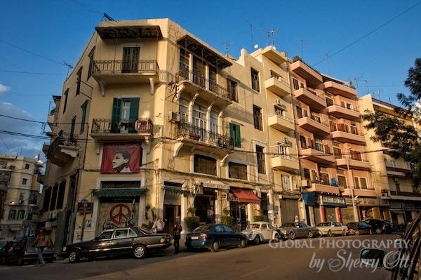 Beirut street corner