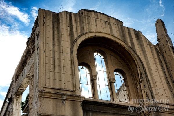 bombed church lebanon