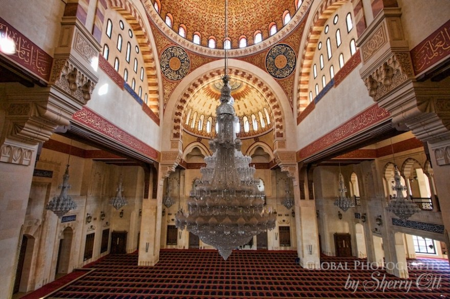 Mohammad al-Amin Mosque Beirut inside