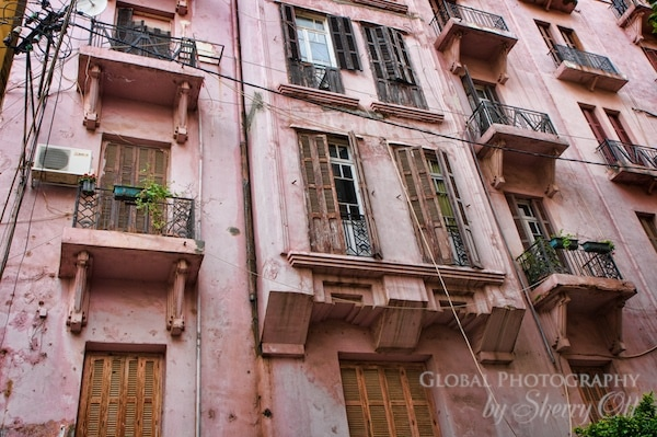 Beirut buildings