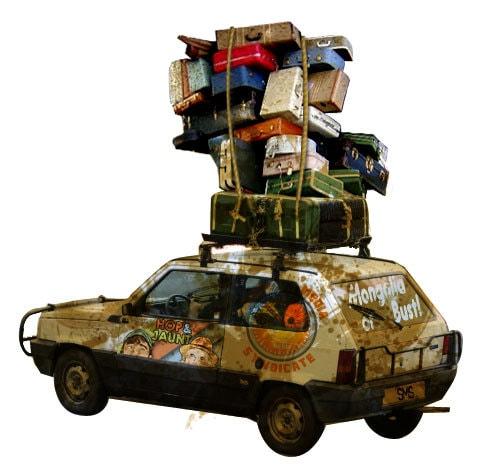 car luggage rack