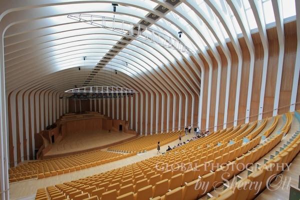 Stage opera house valencia