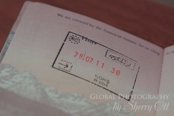 driving in romania passport stamp