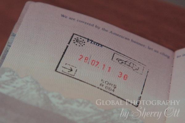 driving in romania passport stamp