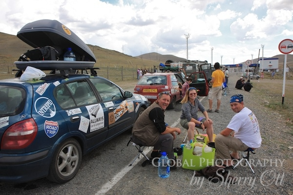 mongol rally border