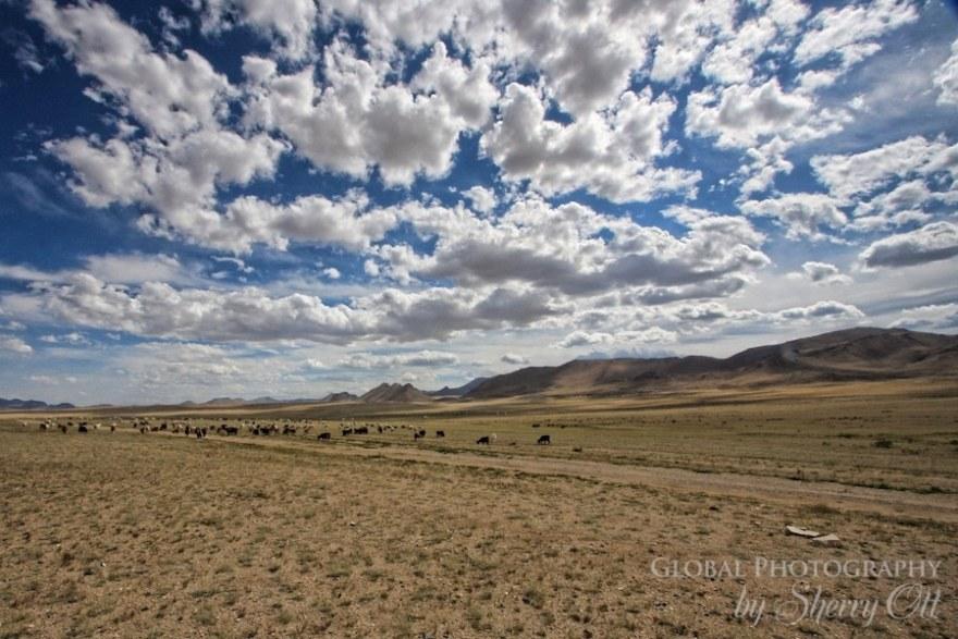 clouds mongolia