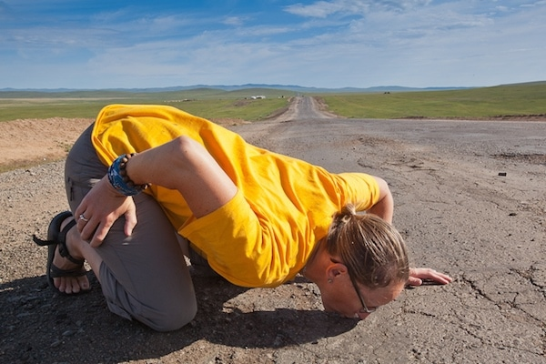 kissing tarmac mongol rally