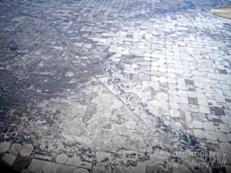 snow from above