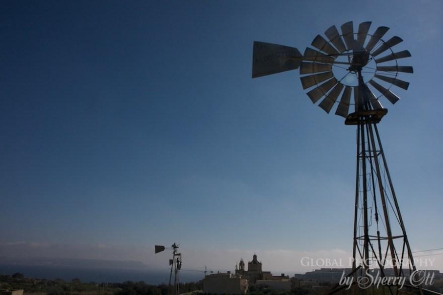gozo windmill