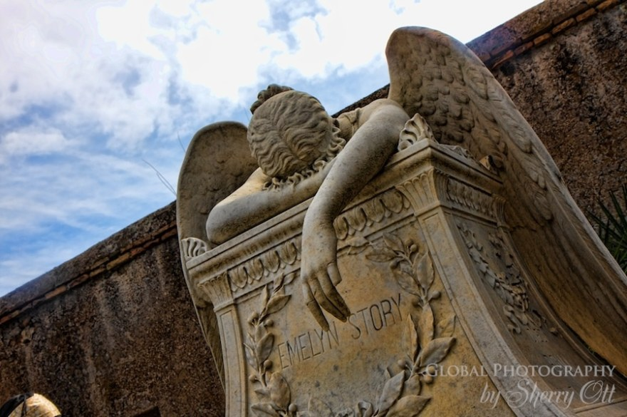 Guardian Angel Protestant Cemetery Rome