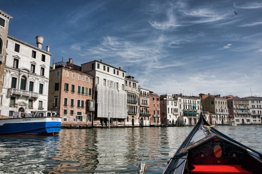 Gondola Photography in Venice