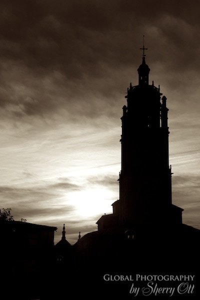 church silouhette