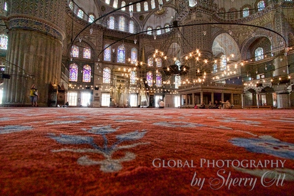 Carpet of Blue Mosque
