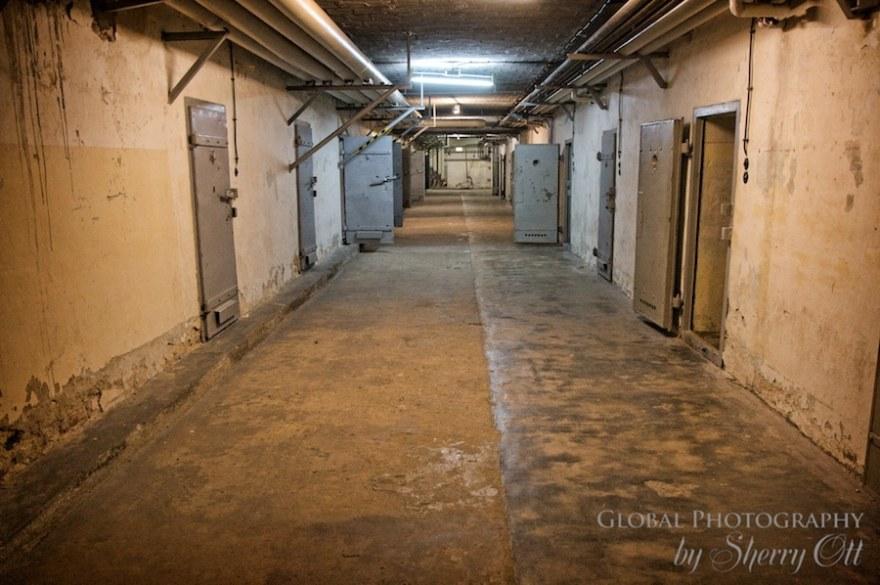STASI submarine hallway