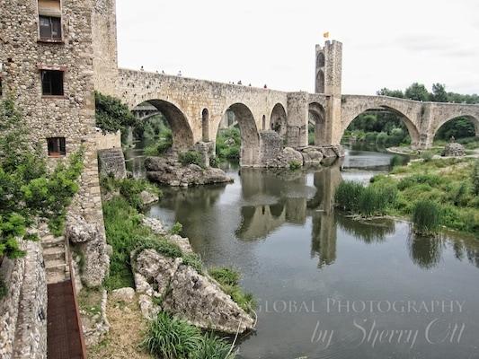 Medievil Besalu Bridge
