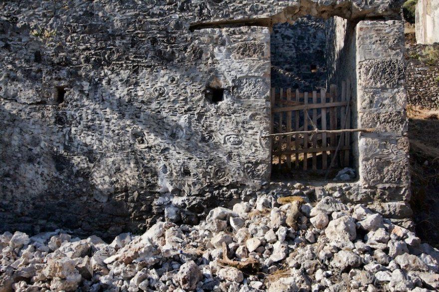 Kayakoy's rubble