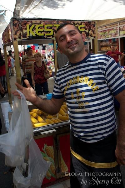 corn vendor
