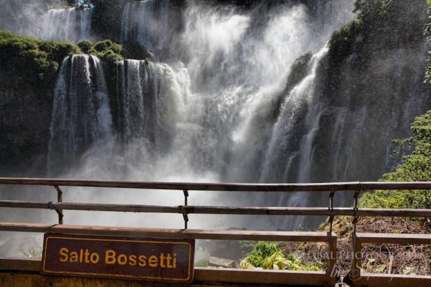 Salto Bossetti lookout