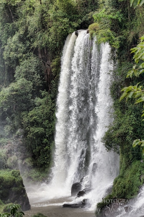 Capturing just one waterfall is hard at Iguazu!