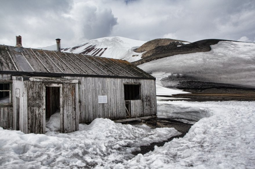 An old building at Whaler's Bay - visiting Deception Island is a fantastic thing to do in Antarctica