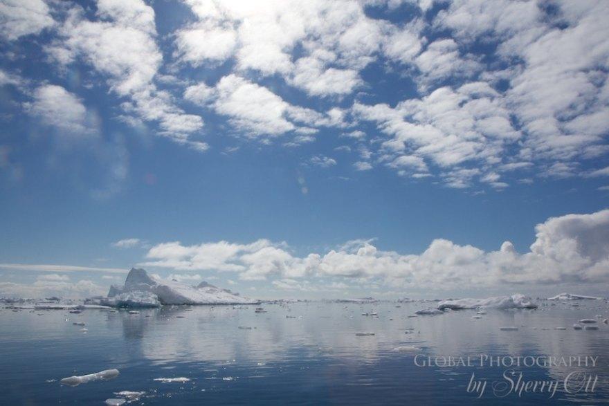 Cloudscapes Antarctica