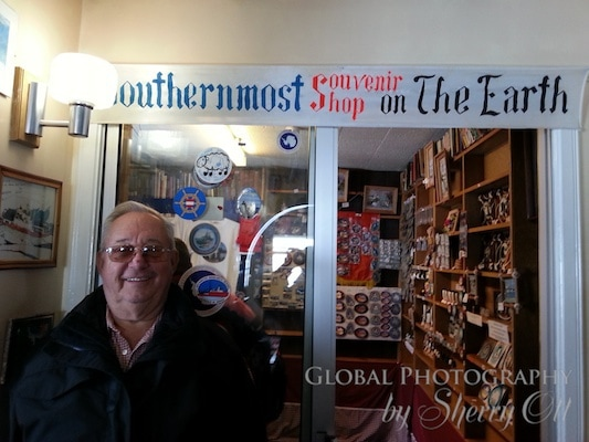 Southernmost souvenir shop - in Antarctica!