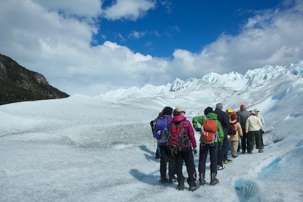 Perito Moreno glacier trek