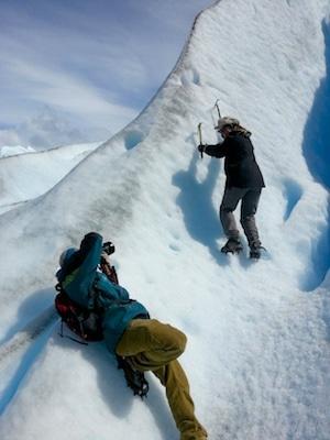 perito moreno glacier climbing