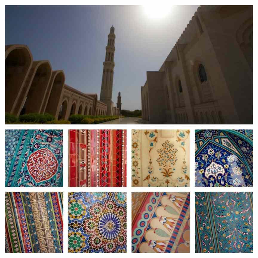 mosque muscat tilework
