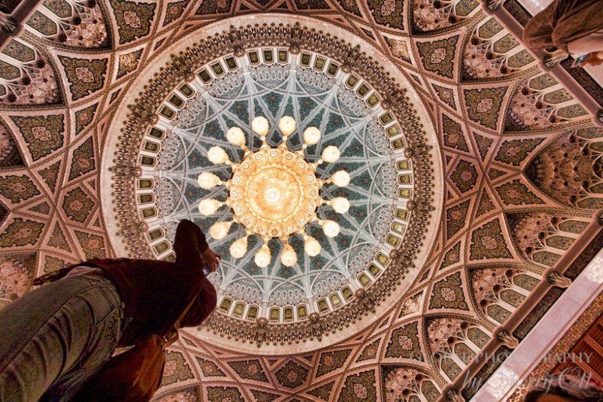 Grand mosque muscat chandelier