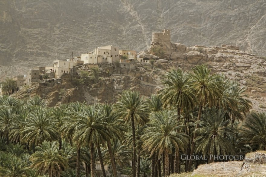 Trekking in Oman villages