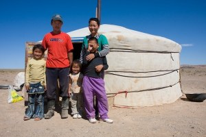 mongolia family
