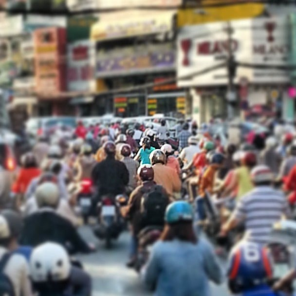 rush hour saigon