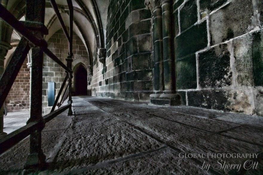 Mont Saint Michel Inside