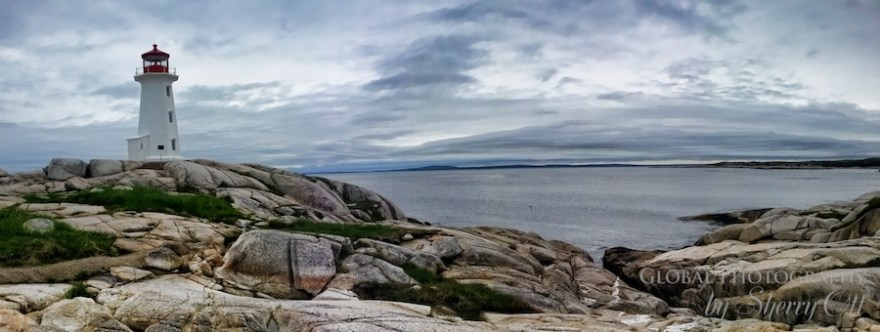 Peggy's Cove Lighthouse Route