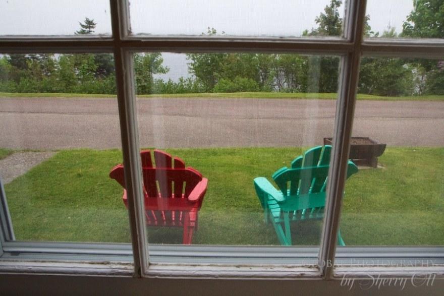 Keltic Lodge adirondack chairs