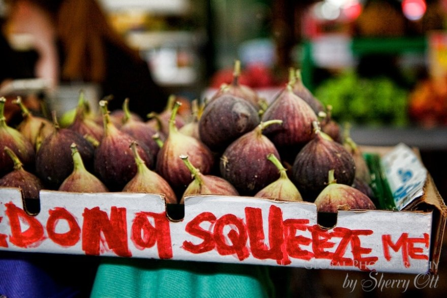 do not squeeze figs