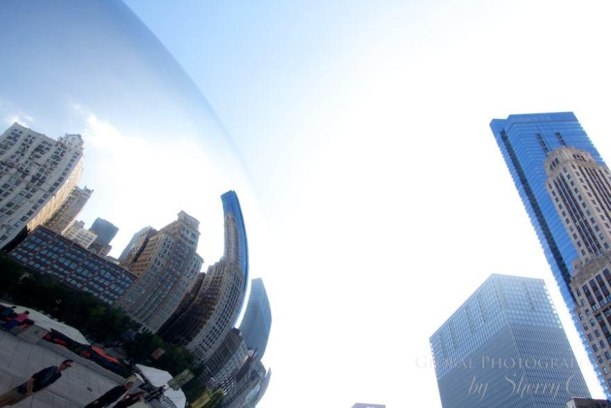 Chicago bean photos