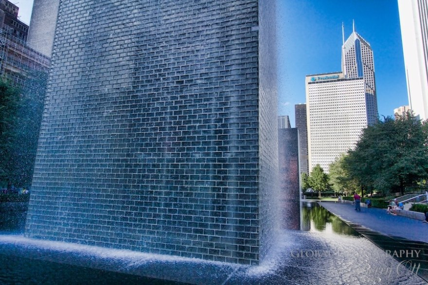 48 hours in chicago Crown Fountain