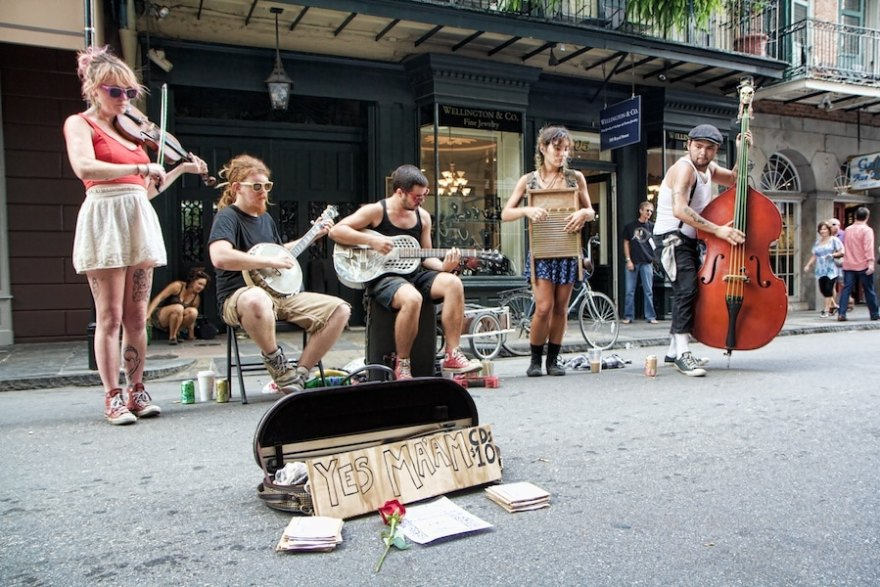 street music new orleans photos